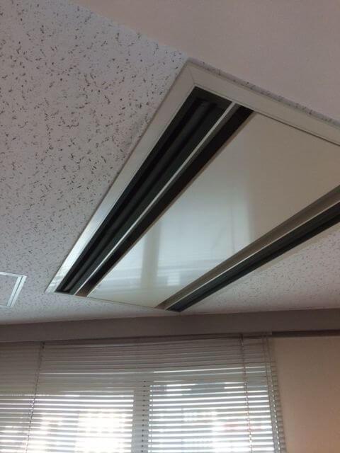 入れ替え前の天井カセット2方向-エアコンA